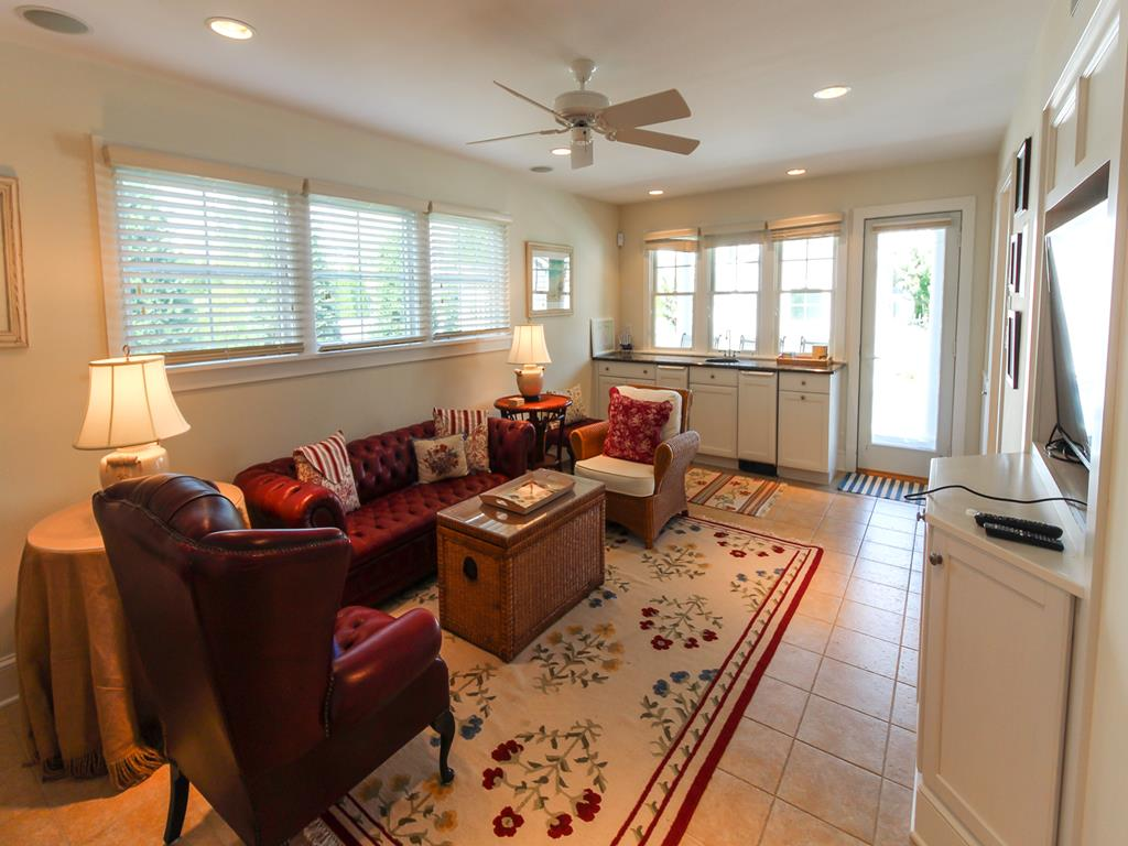 210 121st Street Stone Harbor NJ Seashore Home Living Room View 1