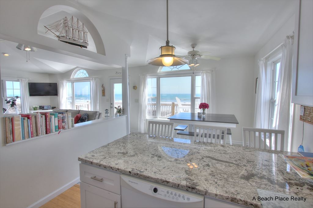 Another View of the Kitchen w/Ocean Views