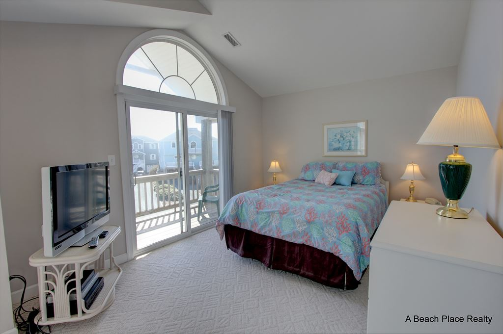Top floor Master Bedroom with private bath