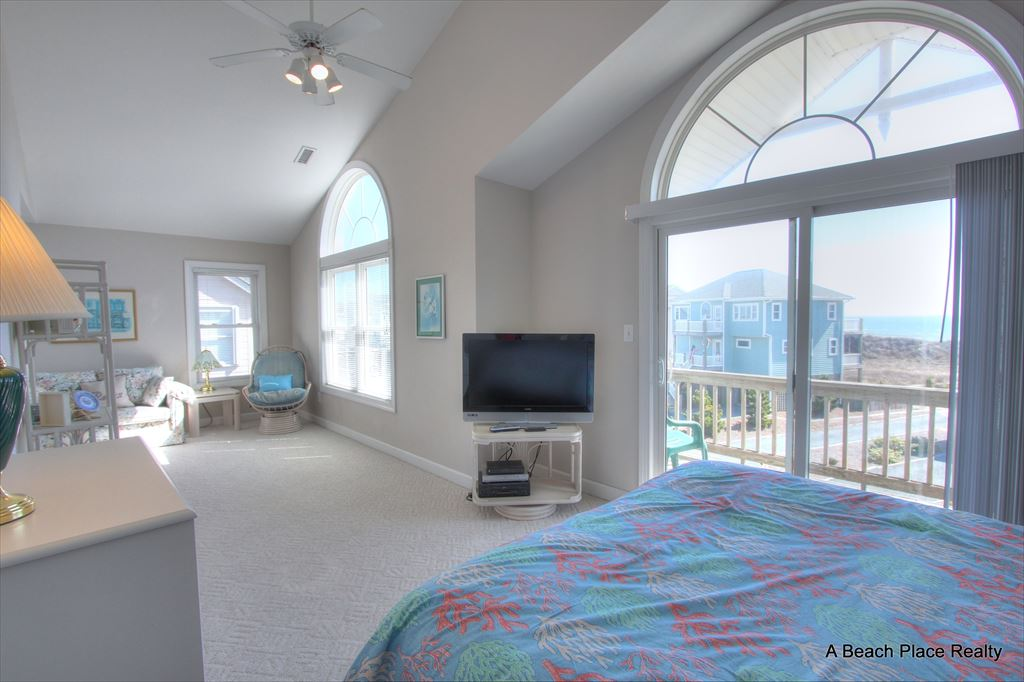Another view of the top floor Master Bedroom - Sitting Area