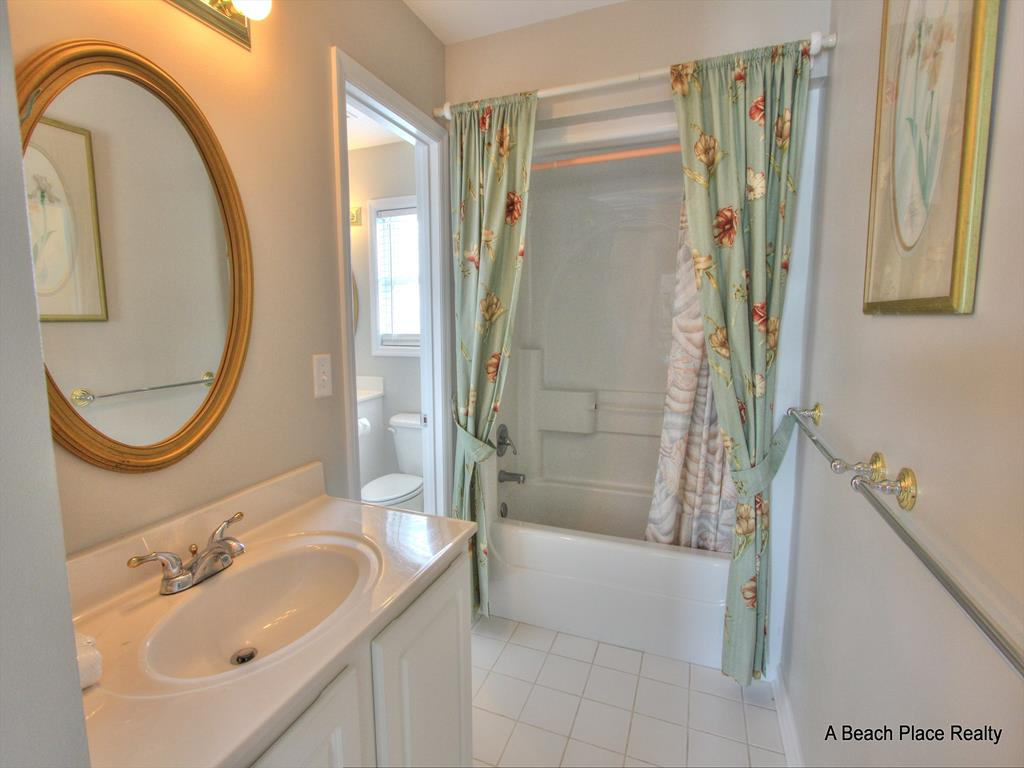 Master Bath with soaking tub and separate shower