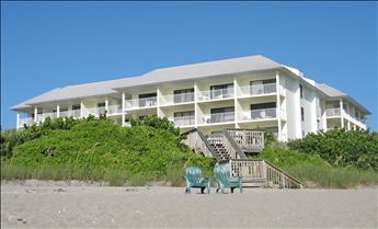 Building Exterior - Spoonbill Building From Beach