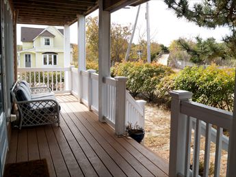 Porch with Beach Path View