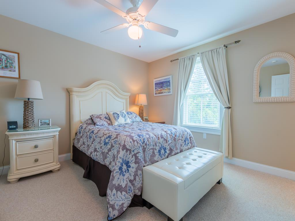 Located on the main living level is where you will find a Queen Bed
