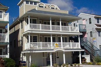 1404 Ocean Avenue, Ocean City Unit: B Floor: 2nd and 3rd