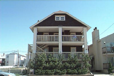891 4th Street, Ocean City Unit: C Floor: 3rd