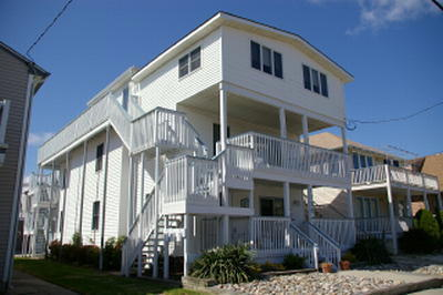 1738 Central Avenue, Ocean City Unit: C-Front Floor: 3rd
