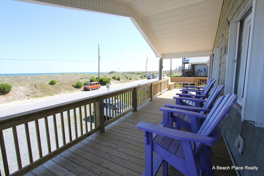 Front Deck - Covered and Open