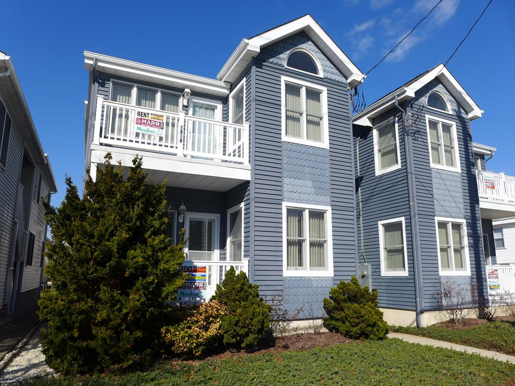 1818 Central Avenue, Ocean City Unit: B Floor: 2nd