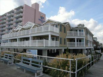1500 Boardwalk, Ocean City Unit: 108 Floor: 1st