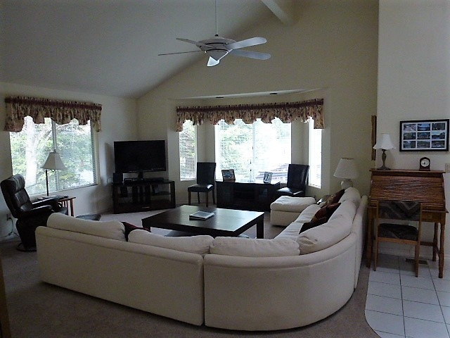 Plenty of room to relax and enjoy the companionship of friends and family!