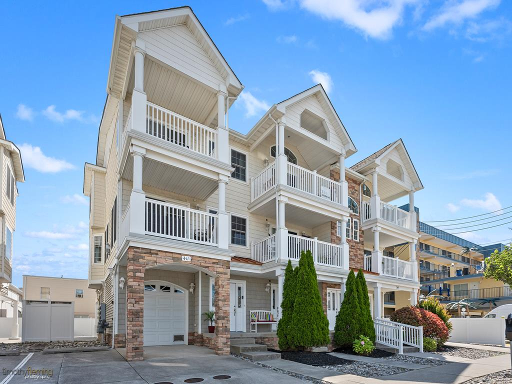 411 E 19th Avenue, North Wildwood Unit: Townhouse