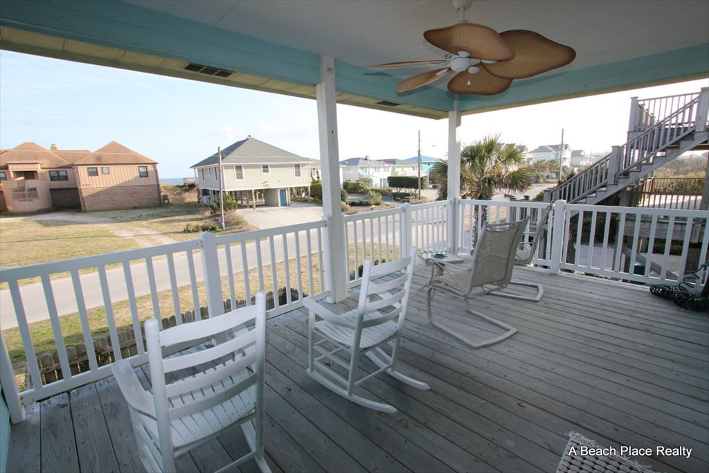 Ocean View Covered Deck