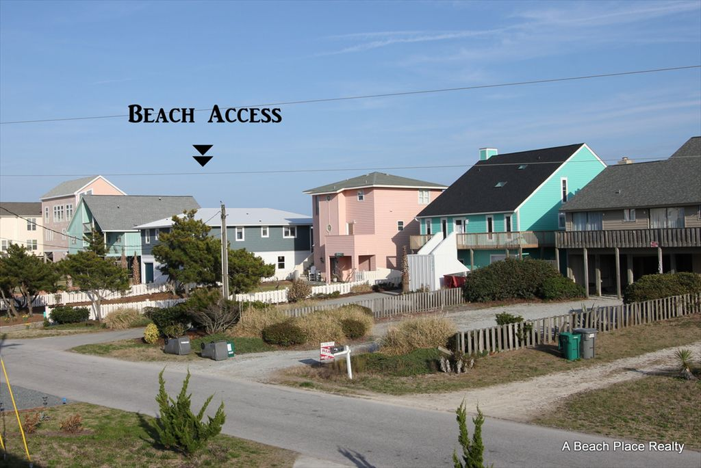 View of closest Beach Access