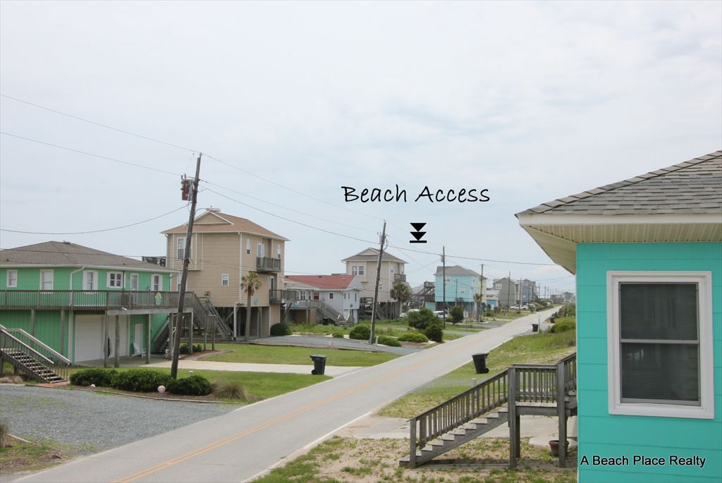 View of the Beach Access