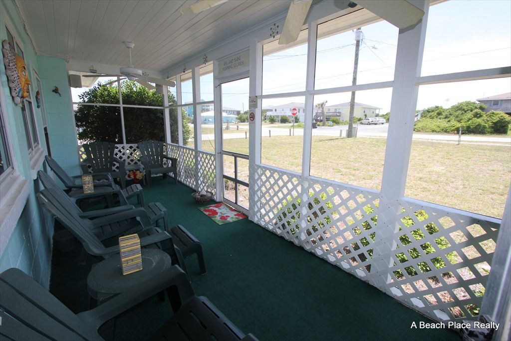 Shared Screen Porch