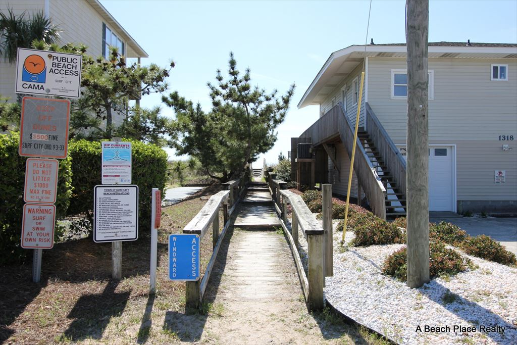 Nearby Beach Access