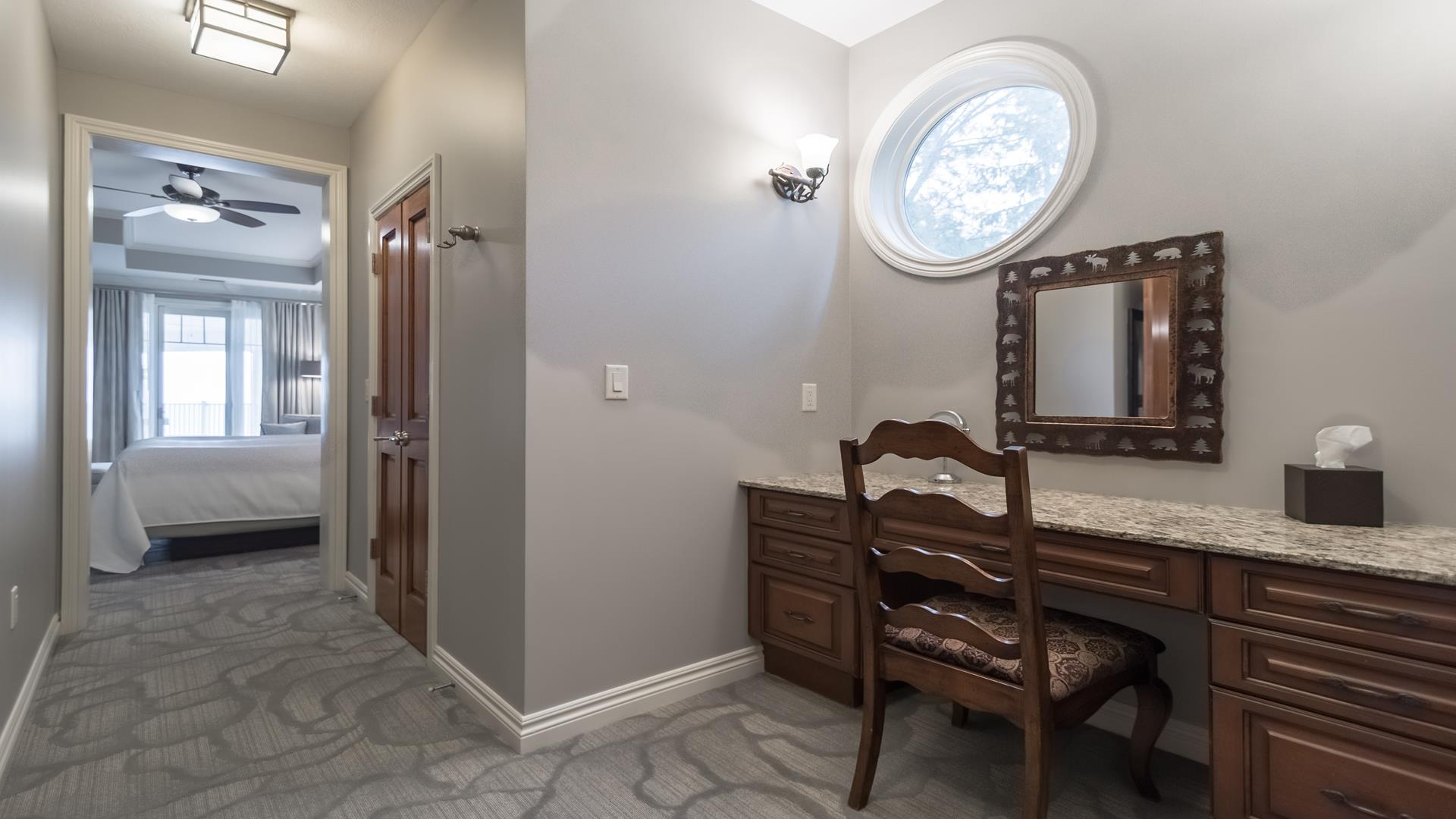Master Suite jetted soaking tub