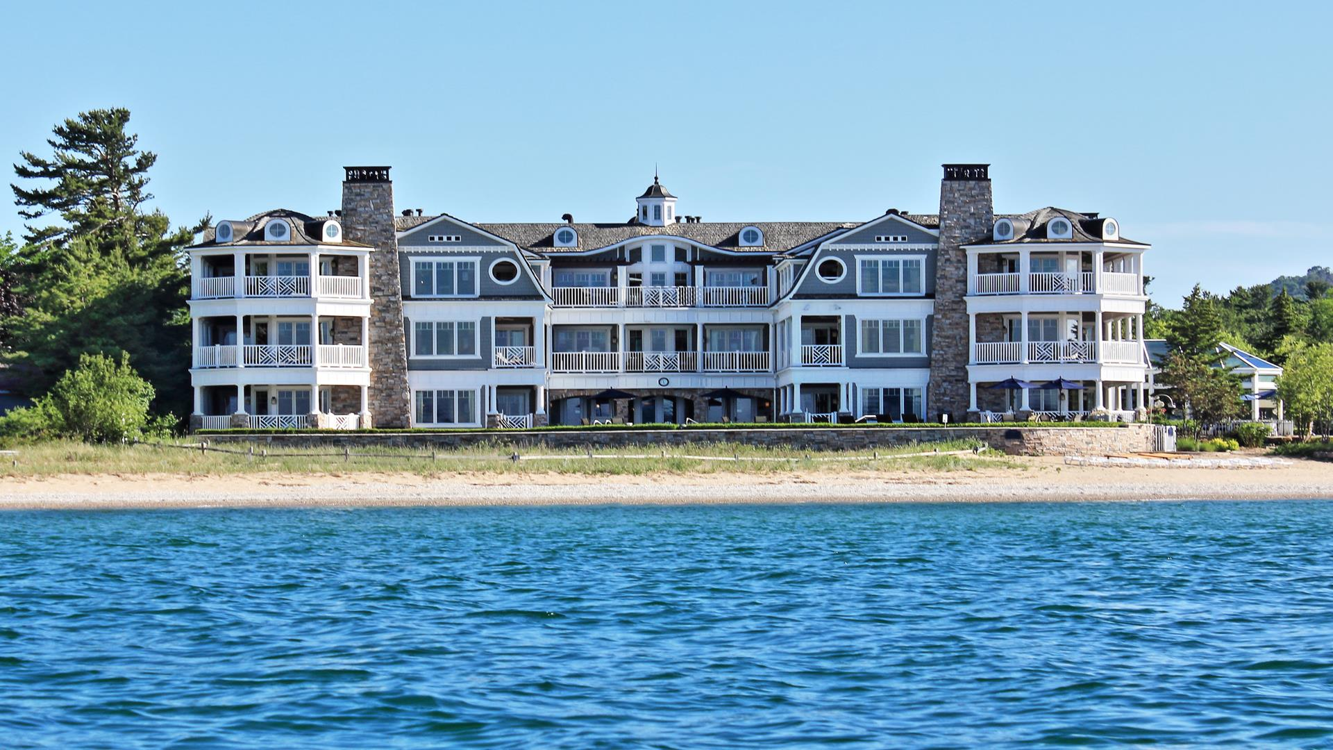 Exterior from Lake Michigan