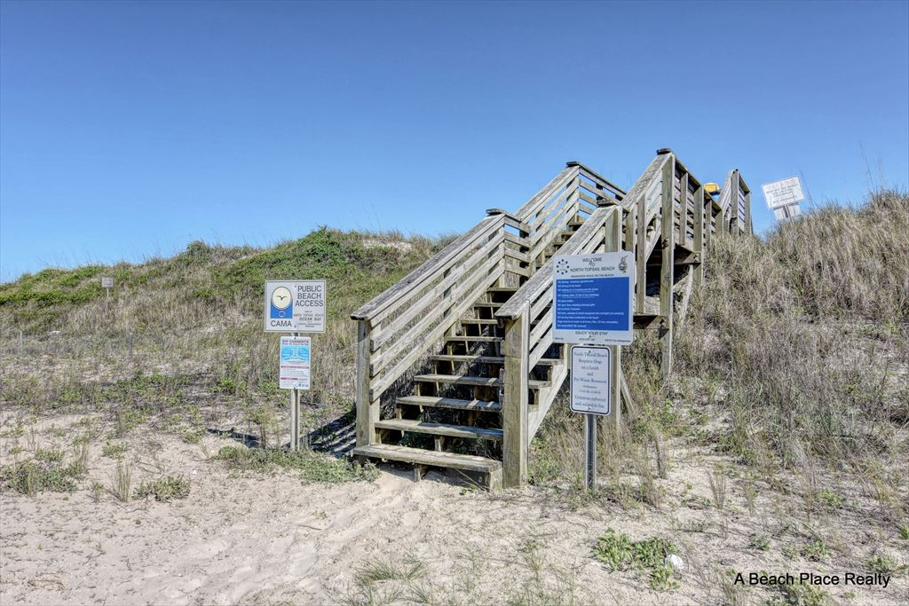 Beach Access across the Street