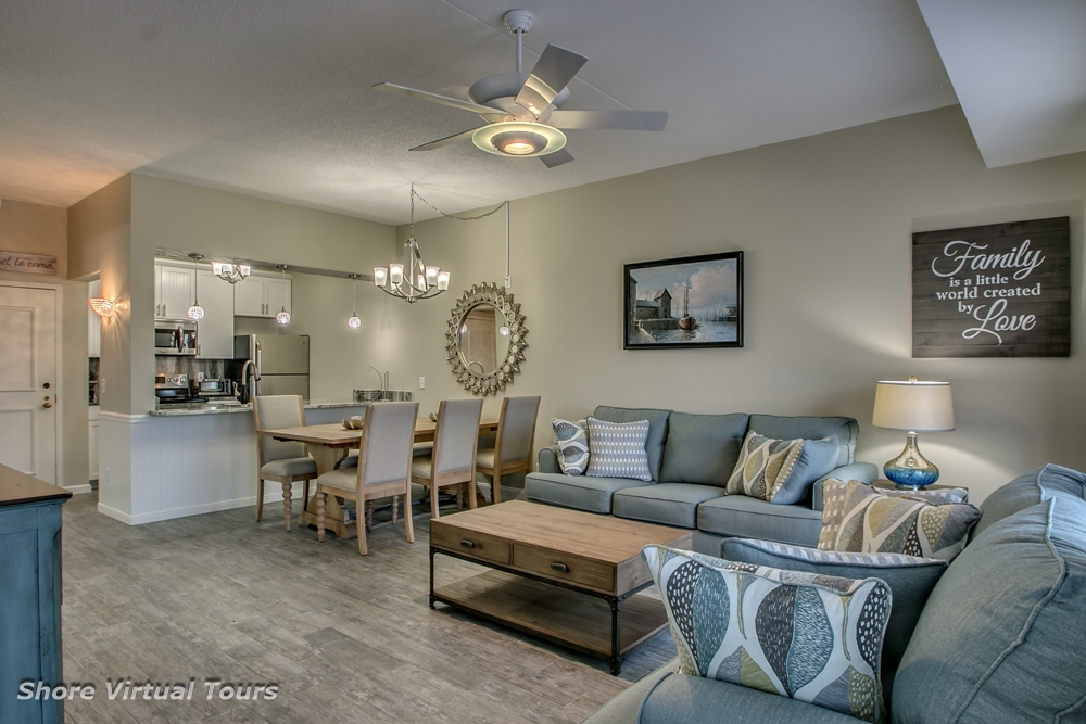 9907 Seapointe Blvd, Wildwood Crest Unit: 107 Floor: 1