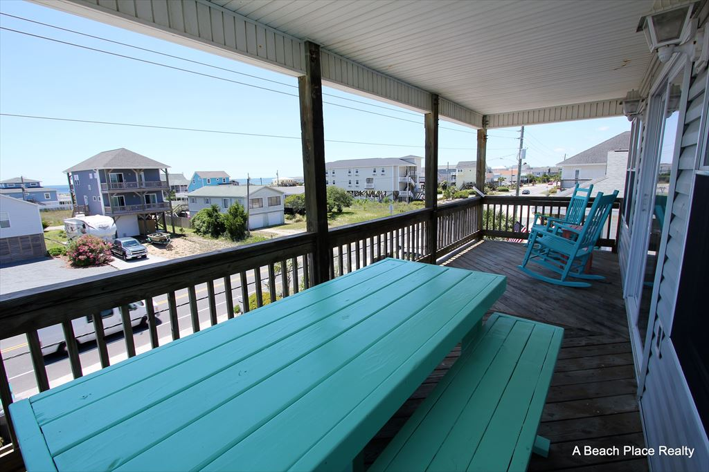 Oceanview Covered Deck