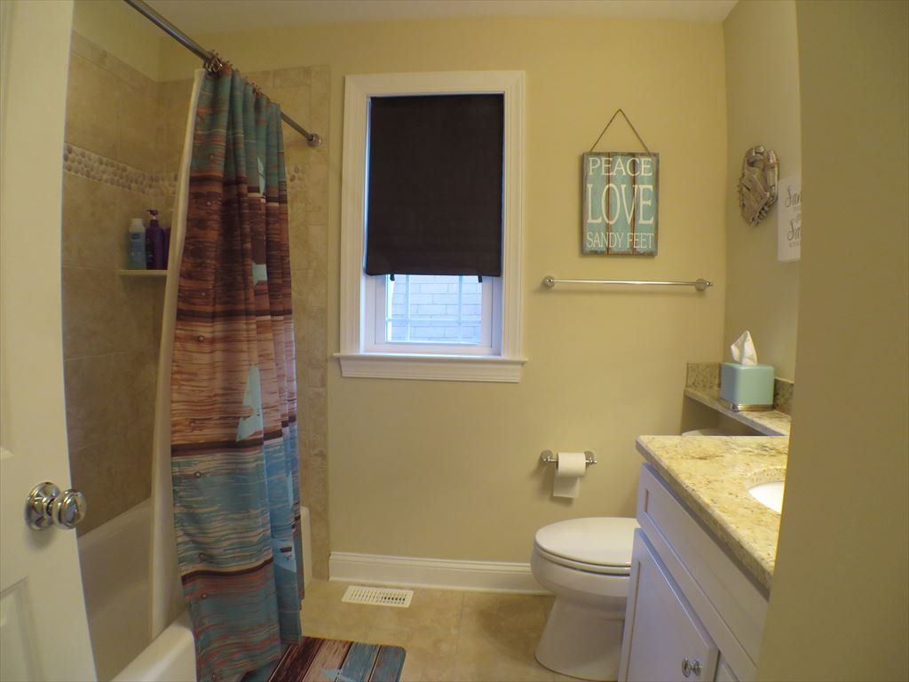 Hall Bath with Tub and Shower
