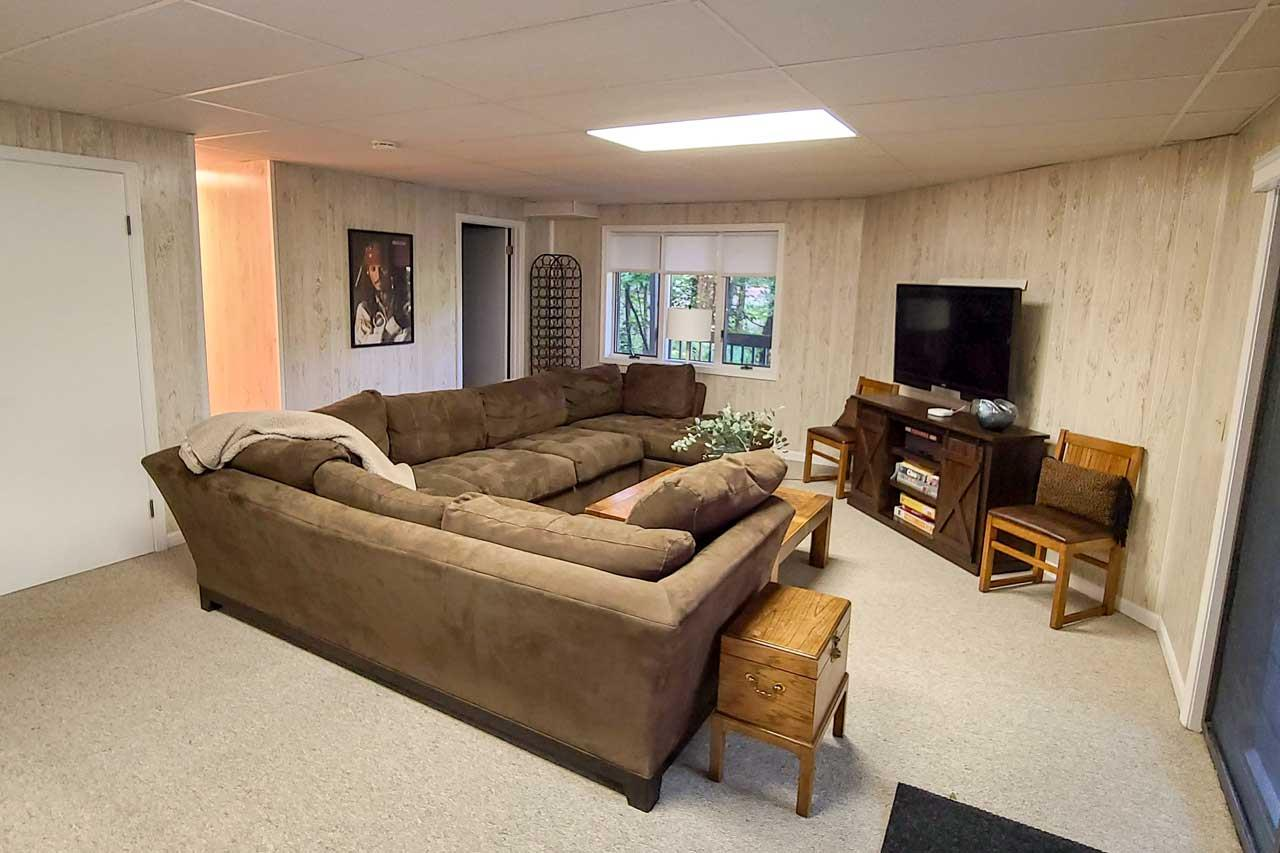 Lower Level Bunk Bed Area